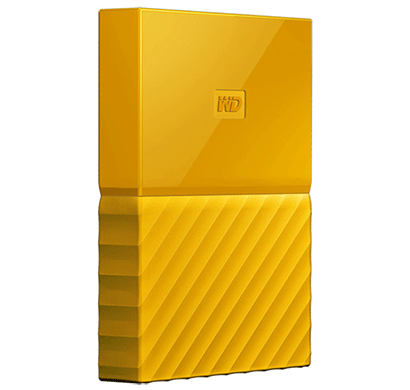 WD My Passport 1TB USB 3.0 Portable External Hard Drive (Yellow)